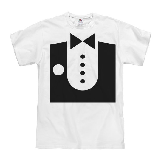 Tuxedo T-shirt