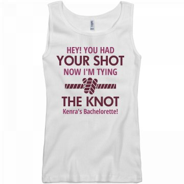 Tying The Knot Tank