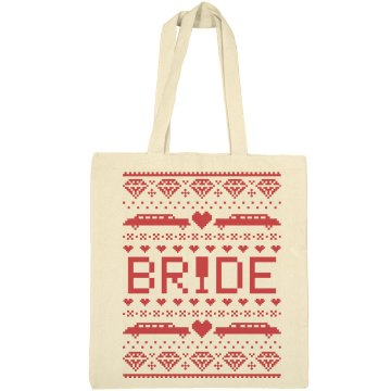 Ugly Christmas Bride Tote