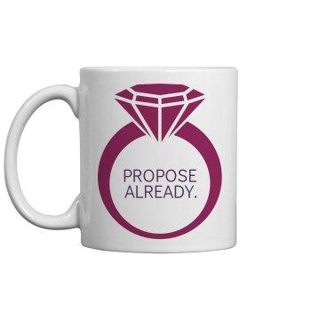 Um, Proposal Already?