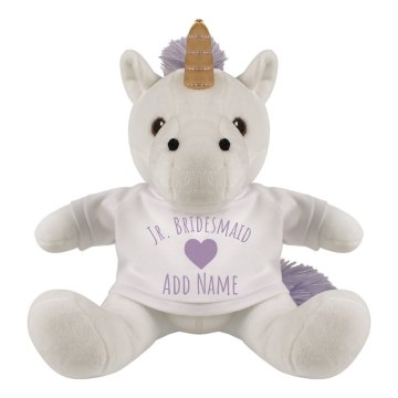 Unicorn Junior Bridesmaid Gift