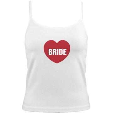 Valentine Bride Camisole