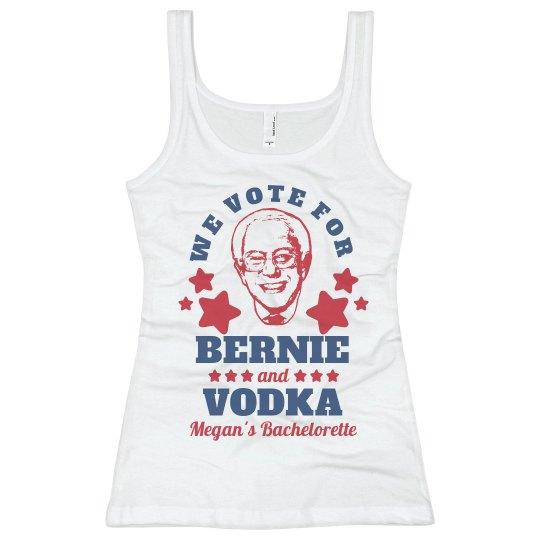 Vote for Vodka and Bernie