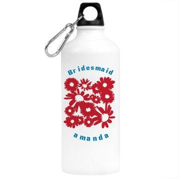 Water Bottles Bridesmaid