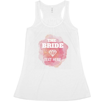 Watercolor Custom Bride Diamond