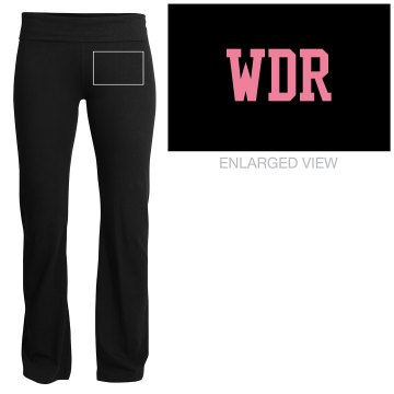 WDR - Wedding Dress Ready Yoga Pants