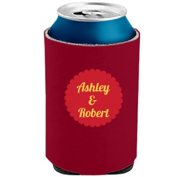 Wedding Can Koozies