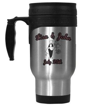 Wedding Date Mug
