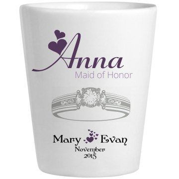 Wedding Glass Anna