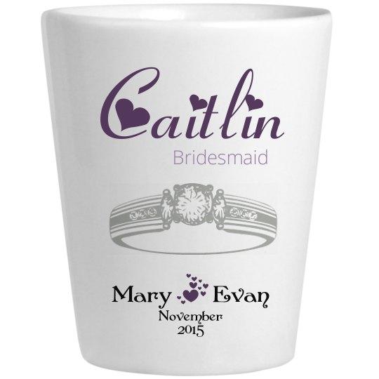 Wedding Glass Caitlin