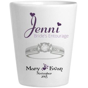 Wedding Glass Jenni