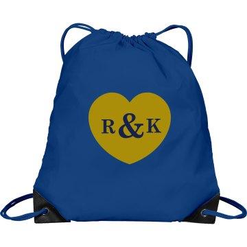 Wedding Monogram Bag