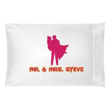 Wedding Pillow Case