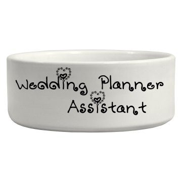wedding planner assistant