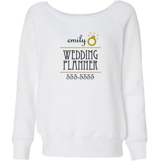 Wedding Planner Ring Name
