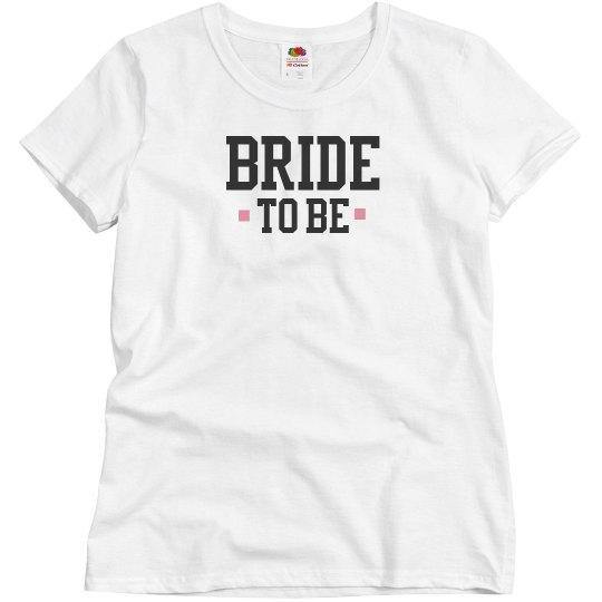 White Bride To Be