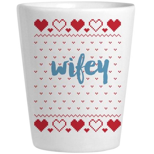 Wife Christmas Shotglass