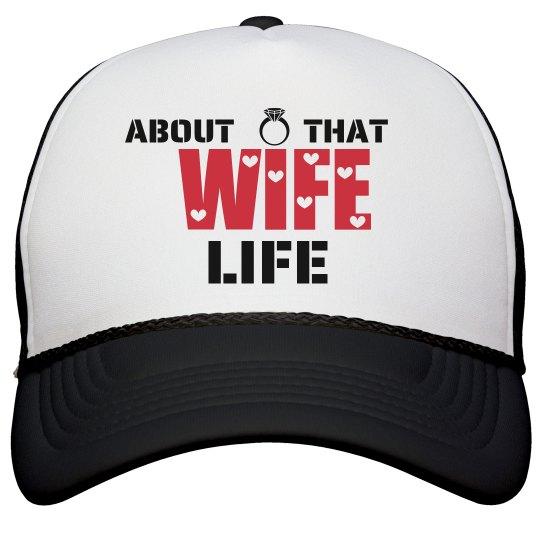Wife Life Cap