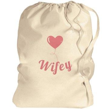 Wifey Laundry Bag