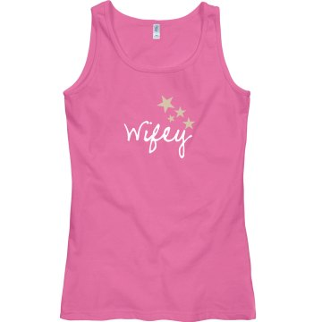 Wifey Pink Tank Top