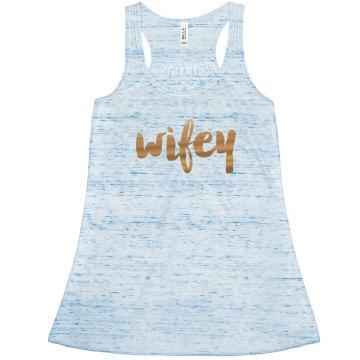 Wifey Tank Top