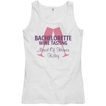 Wine Tasting Bachlorette