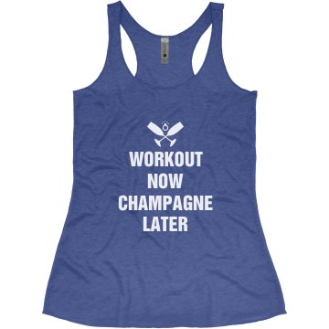 Workout For Champagne