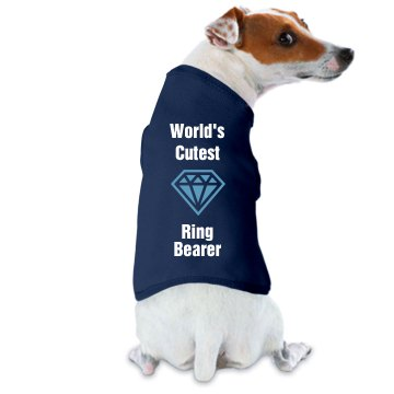 World's Cutest Ring Dog