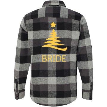 Xmas Bride Flannel Shirts
