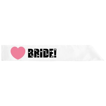 Your Looking At The Bride