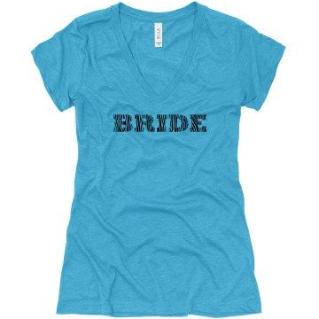 Zebra Bride