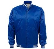 Unisex Nylon Bomber Baseball Jacket
