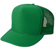 Otto Caps Film and Foil Solid Color Snapback Trucker Hat