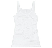 Basic Junior Fit Bella 2x1 Rib Tank Top