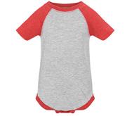 Rabbit Skins Infant Vintage Raglan Bodysuit