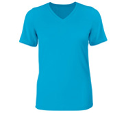 Bella + Canvas Ladies Relaxed Fit V-Neck Tee