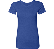 Ladies Slim Fit Triblend T-Shirt