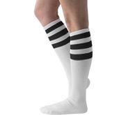 Printed by eRetailing Unisex Striped Knee-High Socks