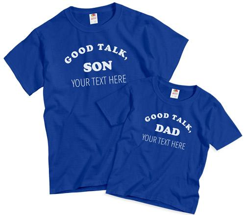 Good Talk Dad - Matching