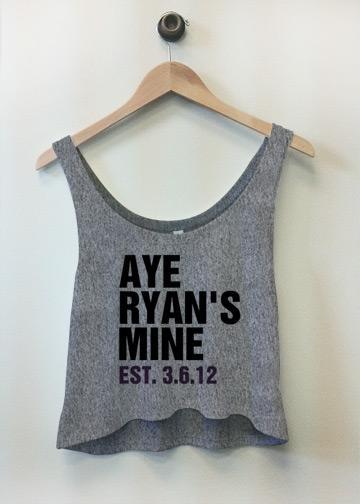 Aye Ryan's Mine Tee