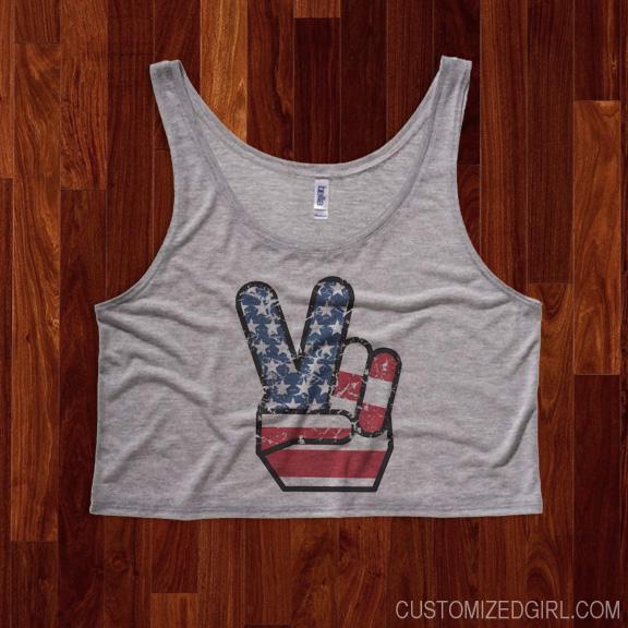 Patriotic Peace Vintage