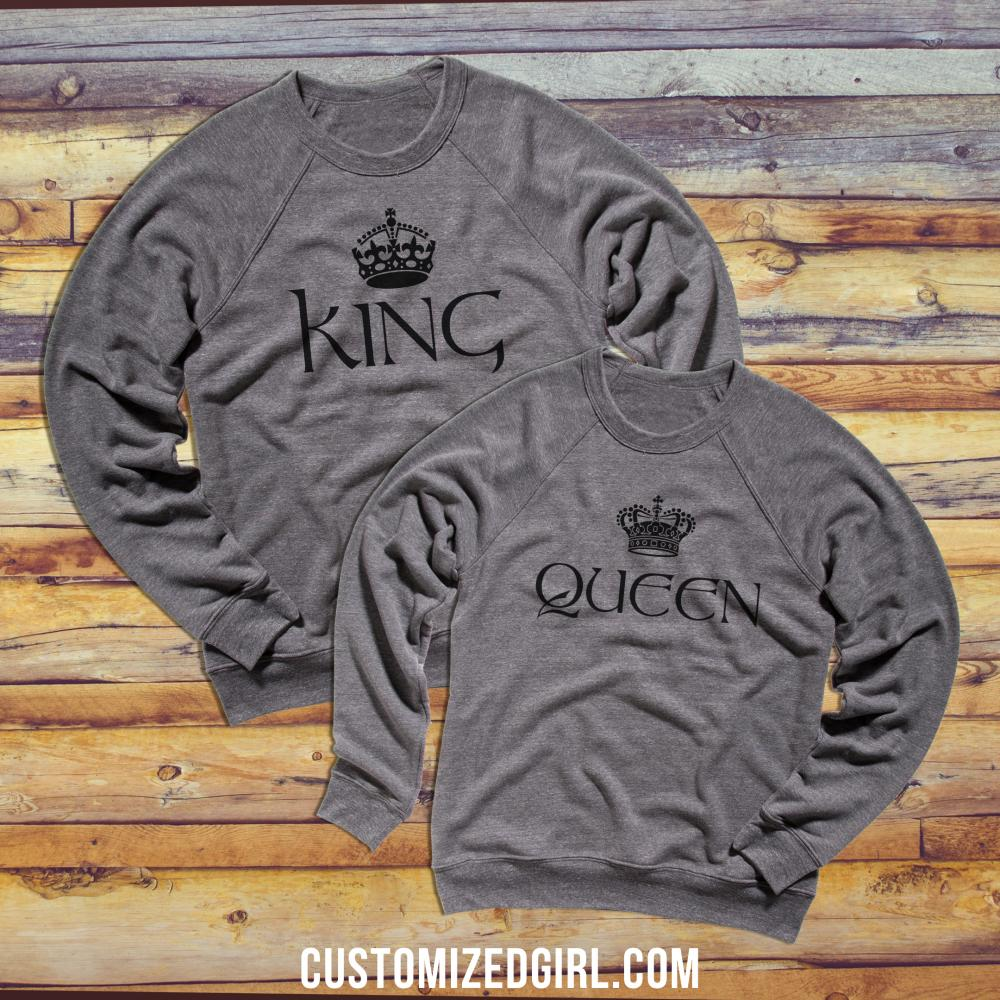 Queen Crewneck Gifts For Her