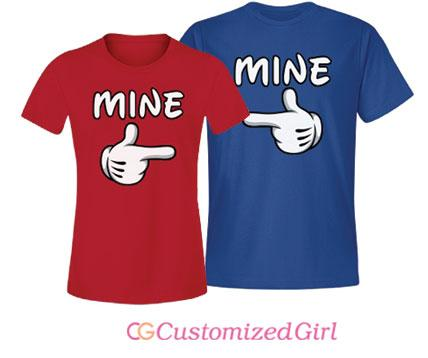Mine Couples Tee Ladies
