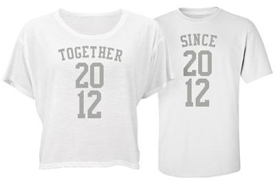 Together Couple Tees