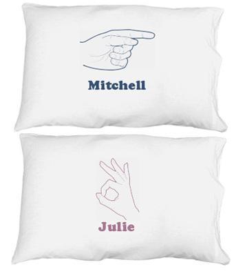 Her Hand Pillowcase