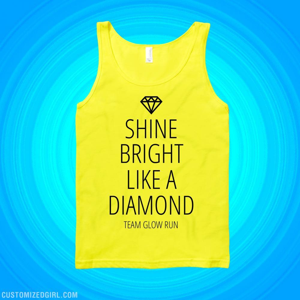 Glow Run Diamond Team