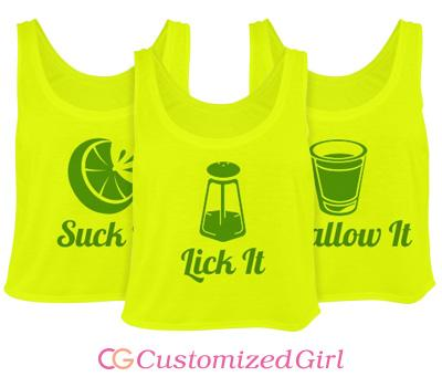 Lick It: Salt Shaker Matching Tequila Tanks