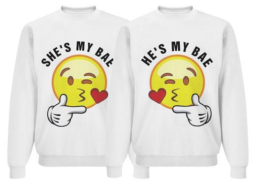 Emoji Bae Matching Couple