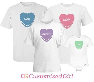 Heart Candy Family Girl