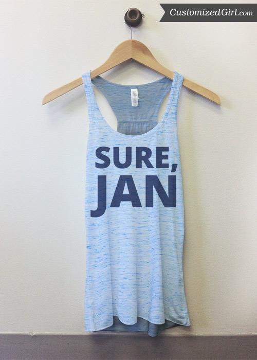 Sure, Jan